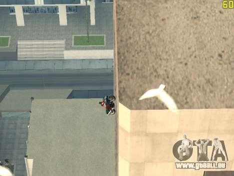 Reiten auf Wände und decken v2. 0. für GTA San Andreas fünften Screenshot