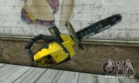 Kettensäge für GTA San Andreas dritten Screenshot