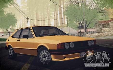 Volkswagen Scirocco S (Typ 53) 1981 IVF für GTA San Andreas rechten Ansicht