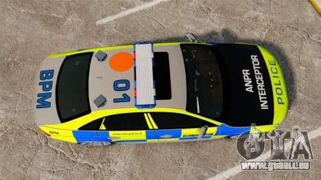 Audi S4 ANPR Interceptor [ELS] für GTA 4 rechte Ansicht
