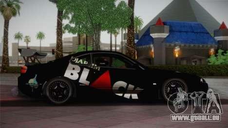 Nissan S15 Street Edition Djarum Black für GTA San Andreas linke Ansicht