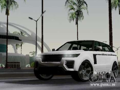 Baller 2 из GTA V pour GTA San Andreas