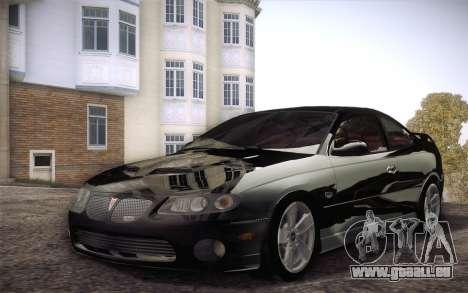 Pontiac GTO 2005 für GTA San Andreas linke Ansicht