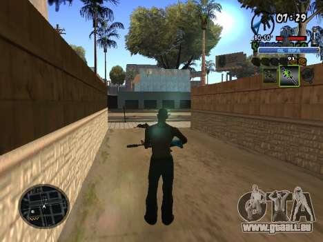 С-HUD Vieux Rifa pour GTA San Andreas troisième écran