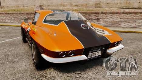 Chevrolet Corvette C2 1967 für GTA 4 hinten links Ansicht