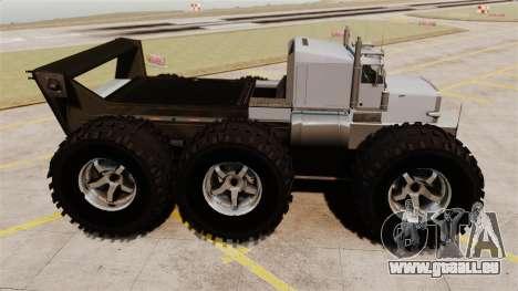 The Biggest Monster Truck für GTA 4 linke Ansicht