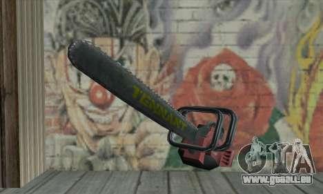 Fahndung Kettensäge für GTA San Andreas