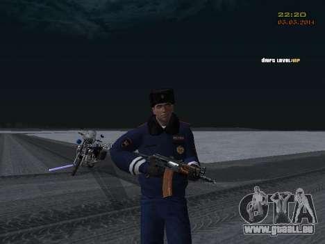 Pak DPS dans un format de l'hiver pour GTA San Andreas dixième écran