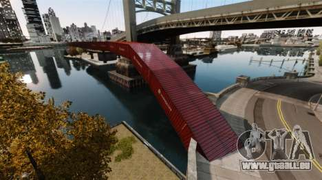 Neue Brücke in Ost-island city für GTA 4