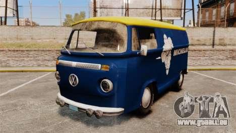 Volkswagen Transpoter 2 1975 pour GTA 4