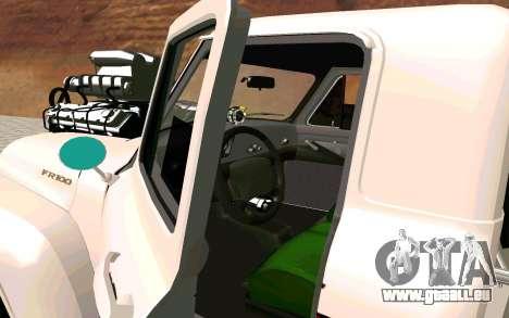 Ford FR-100 pour GTA San Andreas sur la vue arrière gauche