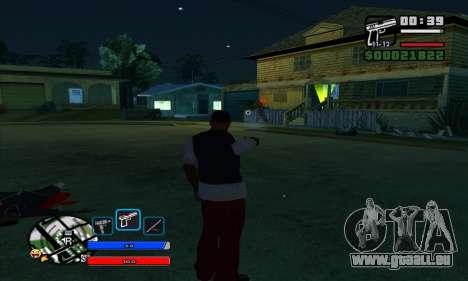 C-HUD by Fawkes pour GTA San Andreas deuxième écran