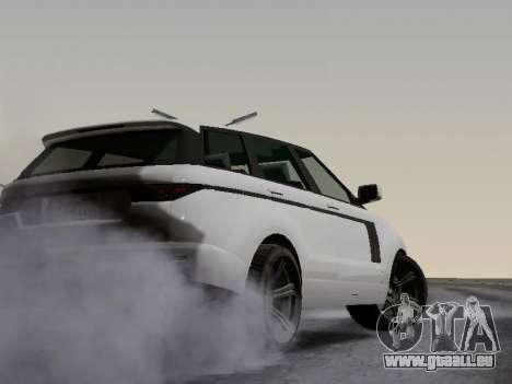 Baller 2 из GTA V pour GTA San Andreas vue intérieure