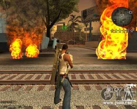 C-HUD CS:GO pour GTA San Andreas