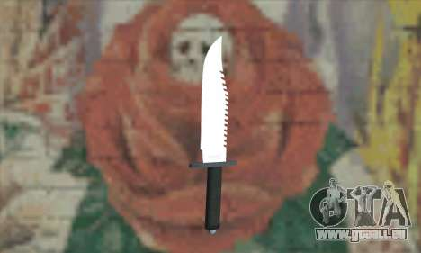 Rambo Messer für GTA San Andreas
