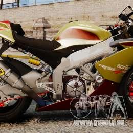 Aprilia RSV4 für GTA 4 rechte Ansicht