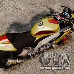 Aprilia RSV4 für GTA 4 hinten links Ansicht