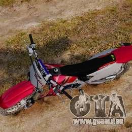 Kawasaki KX250F (Honda) für GTA 4 rechte Ansicht