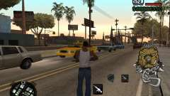 C-HUD by Margarin pour GTA San Andreas