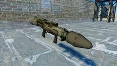 Lanceur de grenade antichar JAW v2.0