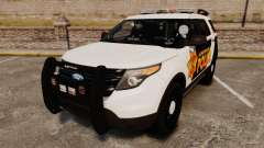 Ford Explorer 2013 LCPD [ELS] v1.5X crossover pour GTA 4