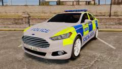 Ford Mondeo 2014 Metropolitan Police [ELS]