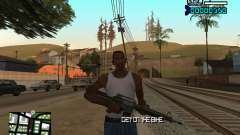 C-HUD by Adam für GTA San Andreas
