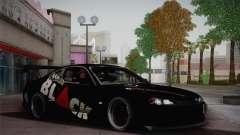 Nissan S15 Street Edition Djarum Black