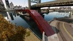 Nouveau pont dans l'Est de l'île de la cité