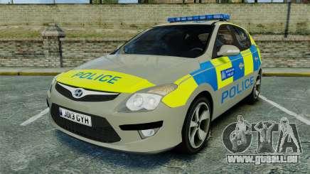 Hyundai i30 Metropolitan Police [ELS] für GTA 4