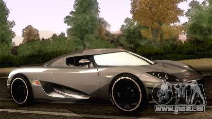 Koenigsegg CCX 2006 Autovista pour GTA San Andreas