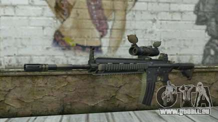 HK416 with ACOG pour GTA San Andreas