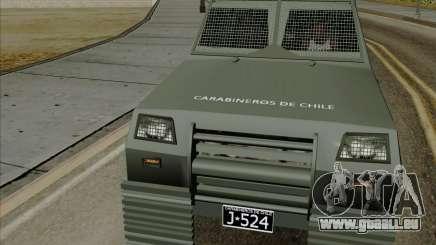 Zorrillo FF.EE pour GTA San Andreas