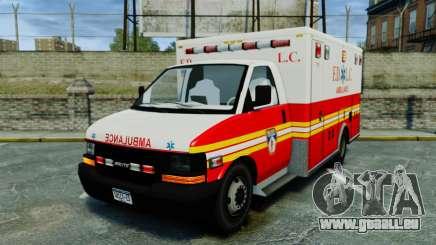 Brute FDLC Ambulance [ELS] pour GTA 4