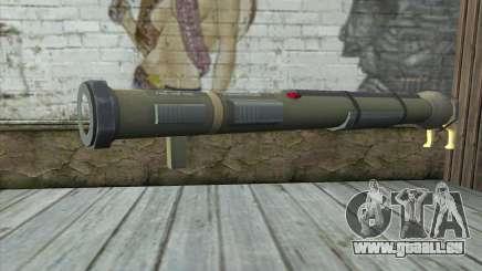 Der Raketenwerfer aus Pstal 3 für GTA San Andreas