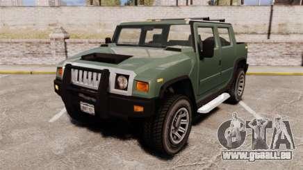 Patriot pickup für GTA 4