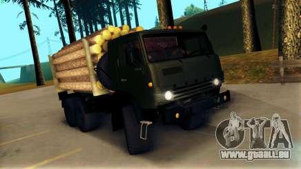 Kamaz 4310 Brevnova für GTA San Andreas