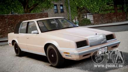 Chrysler New Yorker 1988 pour GTA 4