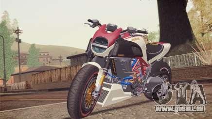 Ducati Diavel Carbon 2011 pour GTA San Andreas