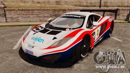 McLaren MP4-12C GT3 für GTA 4