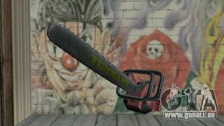 Chasse à l'homme Kettensäge pour GTA San Andreas