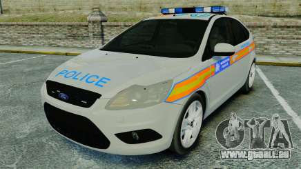 Ford Focus Metropolitan Police [ELS] pour GTA 4