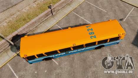 Brute Bus LCPD [ELS] v2.0 für GTA 4 rechte Ansicht