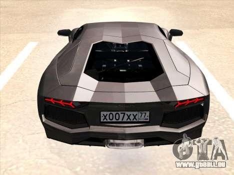 Lamborghini Aventador LP700-4 2013 pour GTA San Andreas roue