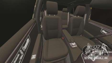 Mercedes-Benz S65 (W221) AMG pour GTA 4 est une vue de dessous