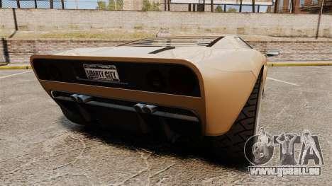 GTA IV TBoGT Vapid Bullet pour GTA 4 Vue arrière de la gauche