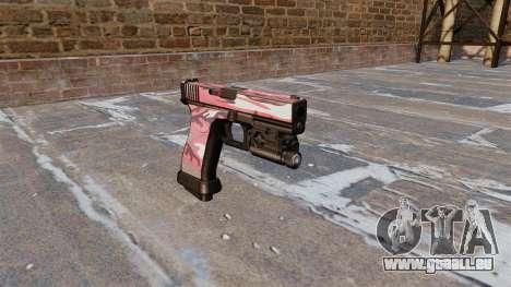 Pistole Glock 20 Städtischen Rot für GTA 4