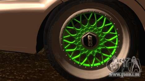 Honda Civic JDM pour GTA San Andreas sur la vue arrière gauche
