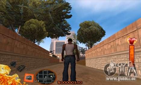 C-HUD Fire pour GTA San Andreas
