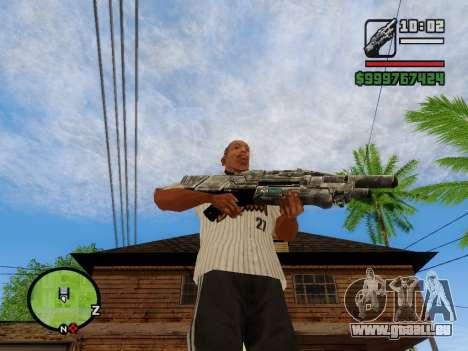 M-86 Sabre v.2 pour GTA San Andreas sixième écran